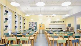 Tolkkisten Koulu school education 2013 Koral Hygienic A-edge, Adhesive