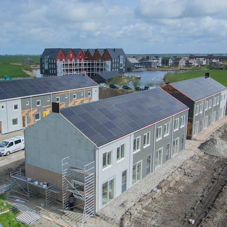Rockzero Bouwsystemen, project Tolhuizen, Leeuwarden