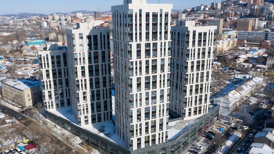 Apartment block Marinist, Vladivostok, Venti Batts Optima, Venti Batts N Optima, insulation