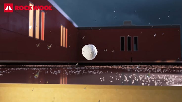 Hail video why RW in metal roof SP