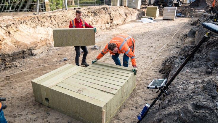 Rockflow Infra - Eenvoud - Stedelijke klimaatadaptatie - Eindhoven Hastelweg