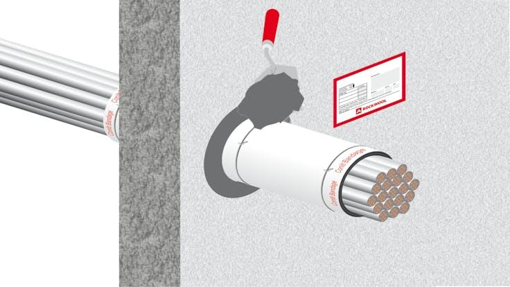 illustration, hvac, conlit bandage, step 5/5, germany