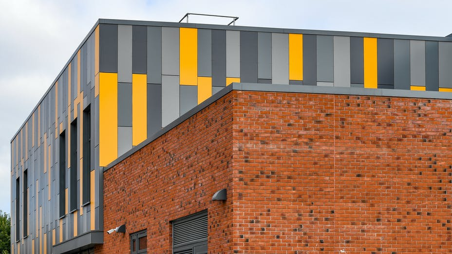 Derby Cathedral School Case study Rockpanel Colours
