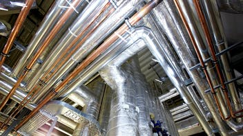 water pipes cold,  pipes, ducts, hvac, klimarock, germany