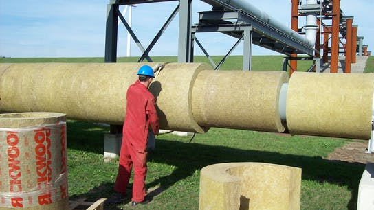 why stone wool, case study, groningen seaports, pipe, pipework, insulation, industrial