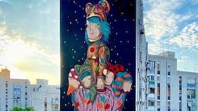 Taranto Street art project, aesthetics, mural, grafitti