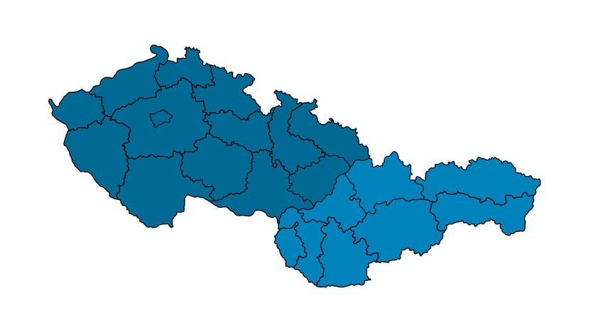 contact person, Sales, profile and map, Lucie Bajerova, all regions, czech republic and slovakia, CZ