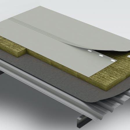 flat roof render