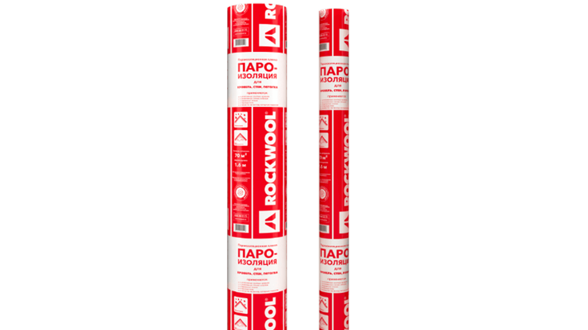 ROCKWOOL vapor barrier for roofs 30m², package, product, components, HVAC, Internal walls, Pitched roof, Monolithic ceilings