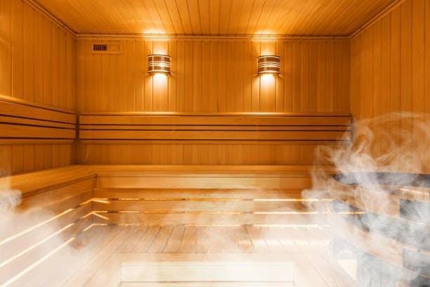 sauna, finnish bathroom, interior, warmth