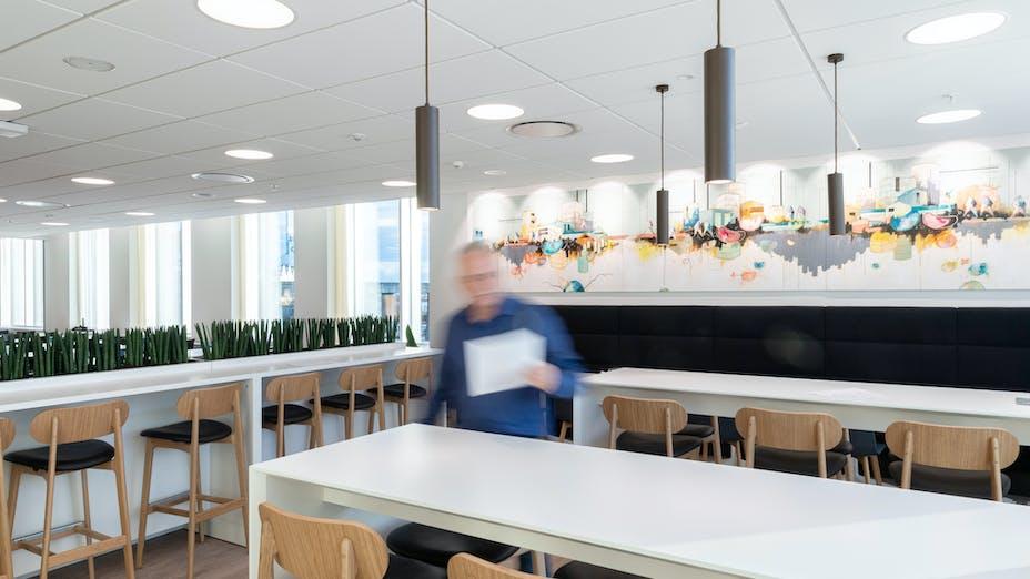DK, Danske Bank, Aarhus, Arkitema, Office, Rockfon Blanka, E24-edge, E-edge, 1200x600, White, 2890 click, Meeting Room