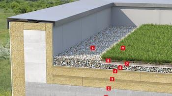 Application pics - flat roof