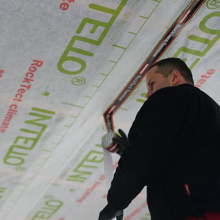 rocktect insulation, roof insulation, case study