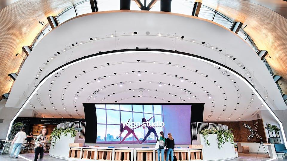 Acoustic ceiling solution: Rockfon® Mono® Acoustic, 1800 x 1200