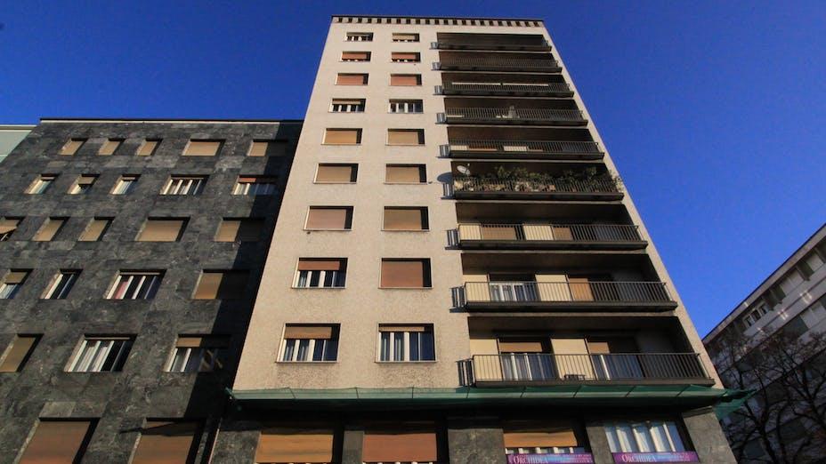 Buildings before renovation
