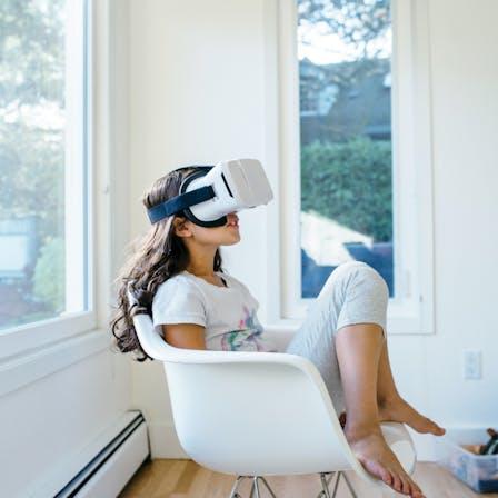 RockWorld imagery, Modern living, VR, indoor