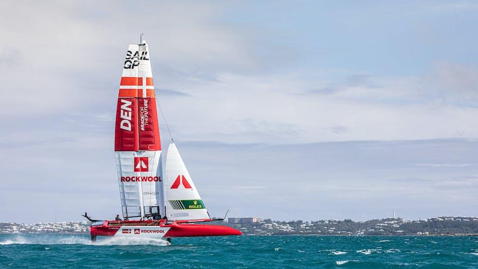 Racing, ROCKWOOL, SailGP, Sailing, Team, ROCKWOOL team, Bermuda
