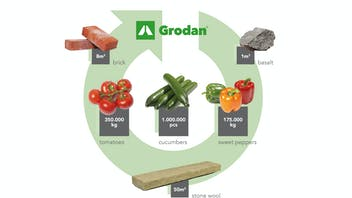 Recycling circle infographic
