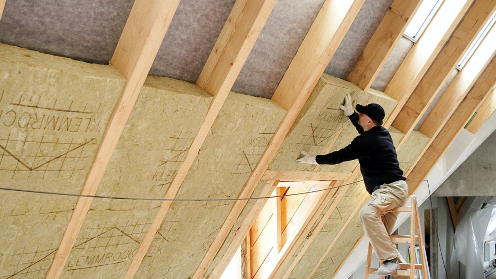product, roof, pitched roof, between the rafters, klemmrock, installation, installer, germany
