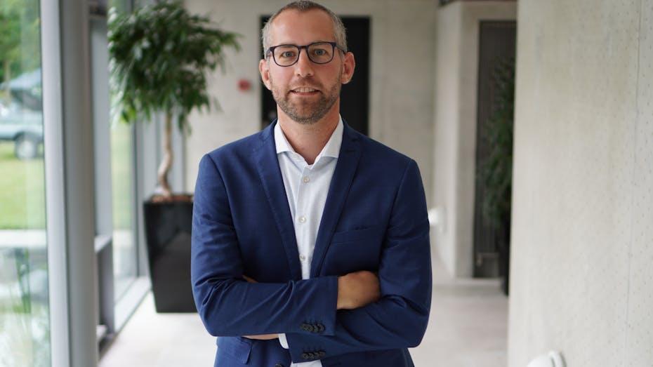 profile image, person, rockfon, denmark, georg schöner, public affairs manager, sustainability
