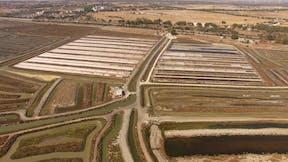 Cadiz SailGP, salt pans, marshlands, nature