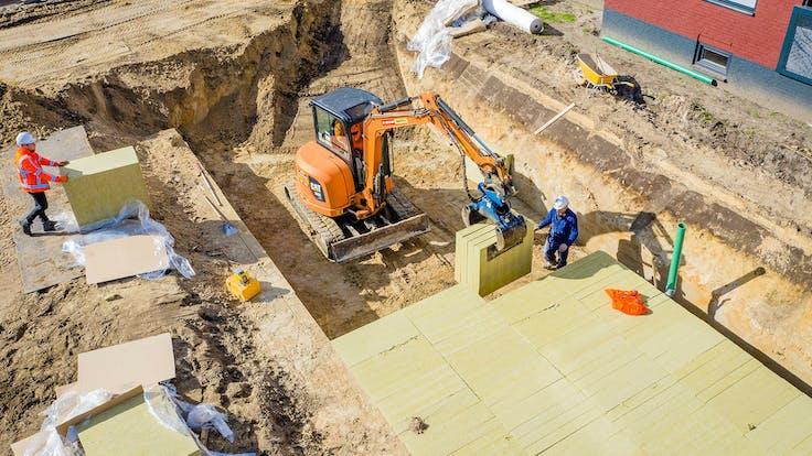 gasthoes horst aan de maas infiltration buffer rockflow water management project