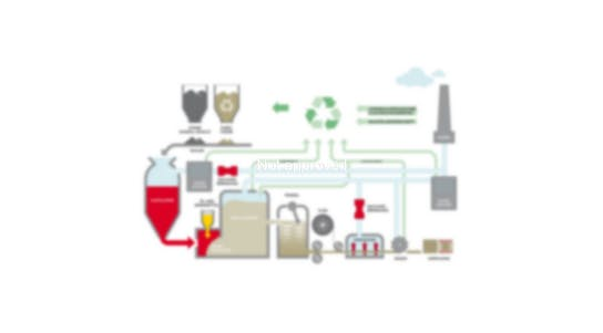 infographic, production process, germany, factory, machines