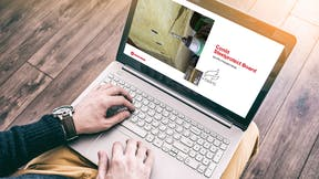 laptop, presentation, skype Conlit, HVAC