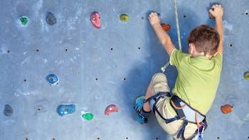People, Humans, Child, Climbing