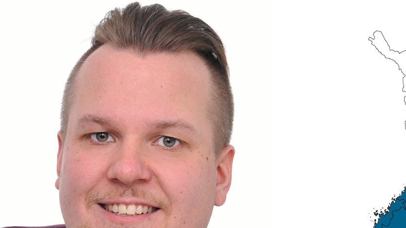 contact person, sales representative, profile and map, Tommi Loiri, rockfon, finland, FI
