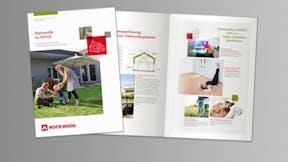 thumb, thumbnail, brochure, Broschüre Steinwolle im WDVS, germany