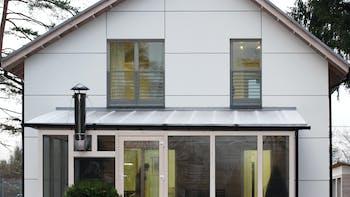 Energodom, Belarus, Minsk, private house, energy efficiency, active house