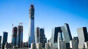 CIIC Tower Beijing, high-rise, energy efficiency, fire-resilience