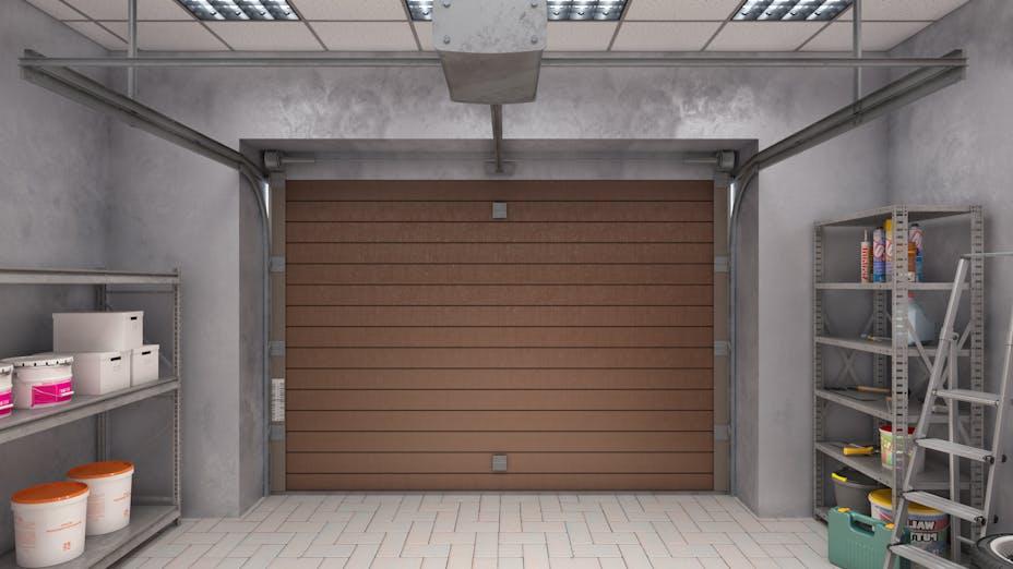 ceiling, garage