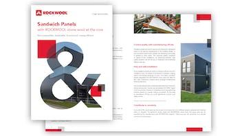 Screenshot of RW-CS Core Solutions Sandwich Panel Brochure