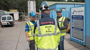 Health & Safety, Auftragnehmer, Leiharbeiter, talk, vest, worker, fabric, vest, temporary workers, germany