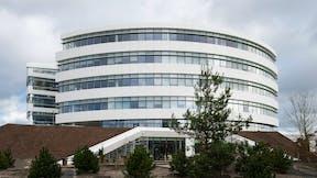 Big pharmaceutical office in Copenhagen, Denmark, Rockfon Mono Acoustic, Industrial, Henning Larsen Architects, MTHøjgaard, Svend Christensen