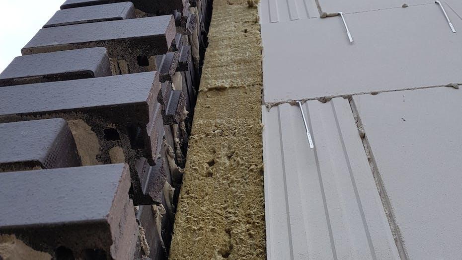 product, wall, cavity wall, insulation slab, insulation board, kerndämmung, kernrock, germany