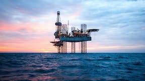 Oil rig. Technical