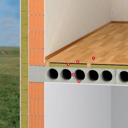 ceiling, floor, application