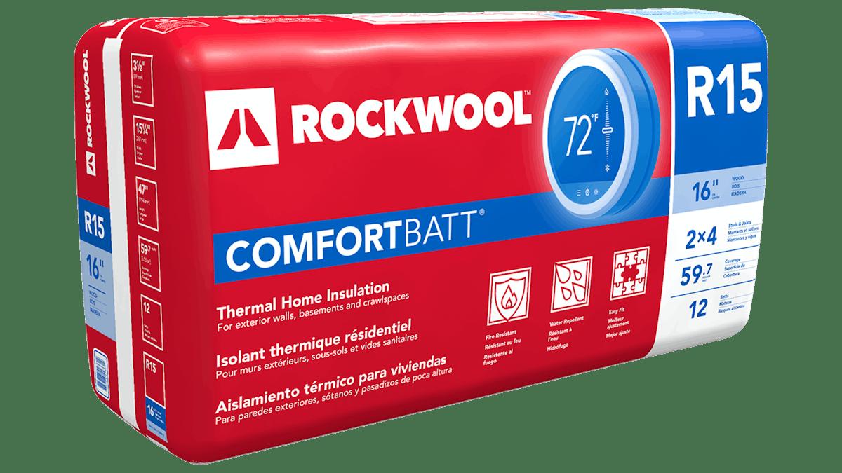 """Comfortbatt R15 Wood Stud 16"""" oc"""