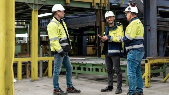Rockwool, Eskilstuna, Sweden, people, factory, work