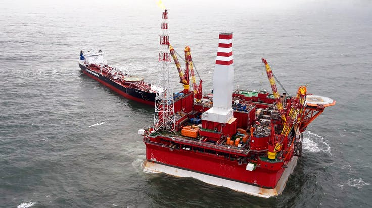 Oil refining platform, 25 years of Rockwool, Rockwool 25
