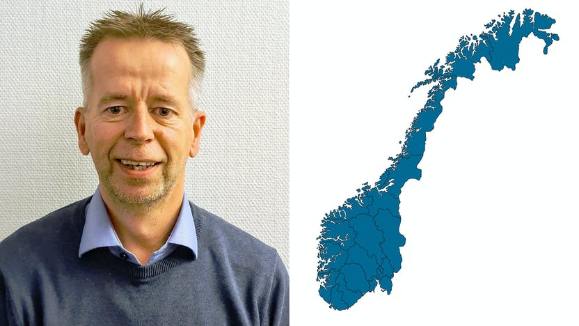 contact person, sales representative, profile and map, Steinar Pjaakah, NO