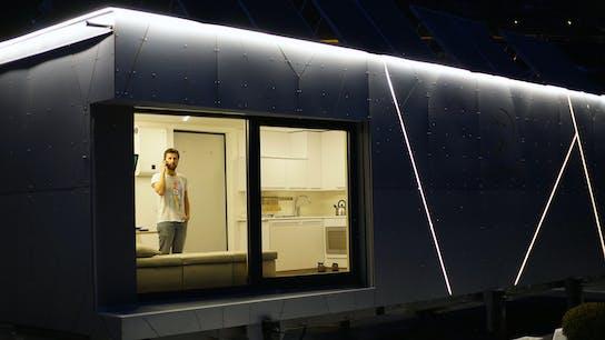 Biosphera 2.0, Thermal Properties, night
