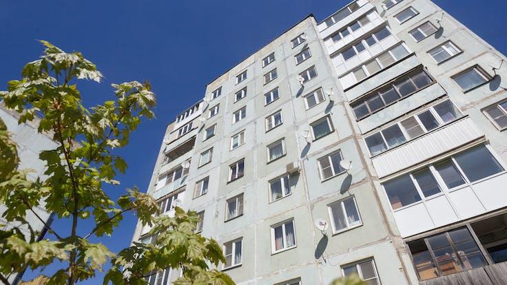 Vyborg, energy efficiency, multi unit house