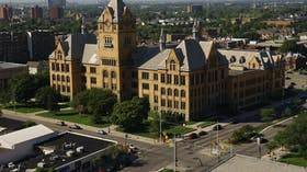 Wayne State case study roofing