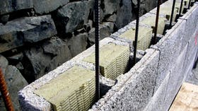 Durisol case study 1, insulation, thermal properties, concrete, wall insulation
