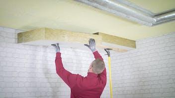 renovation, basement, kellersanierung, basement ceiling, pipe insulation, germany, planarock top, rockwool 800, professionals, installer, energy efficiency