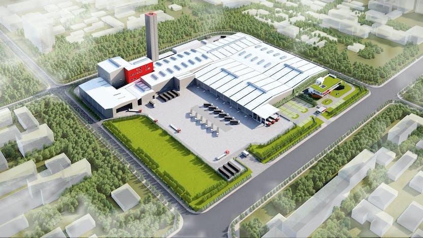 Qingyuan factory design